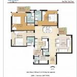 3 BR Floor Plan 1798 SQFT