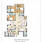 4 BR Floor Plan 2620 SQFT